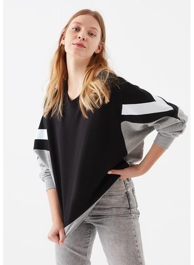 Mavi Kadın   Sweatshirt 1600551-900 Siyah
